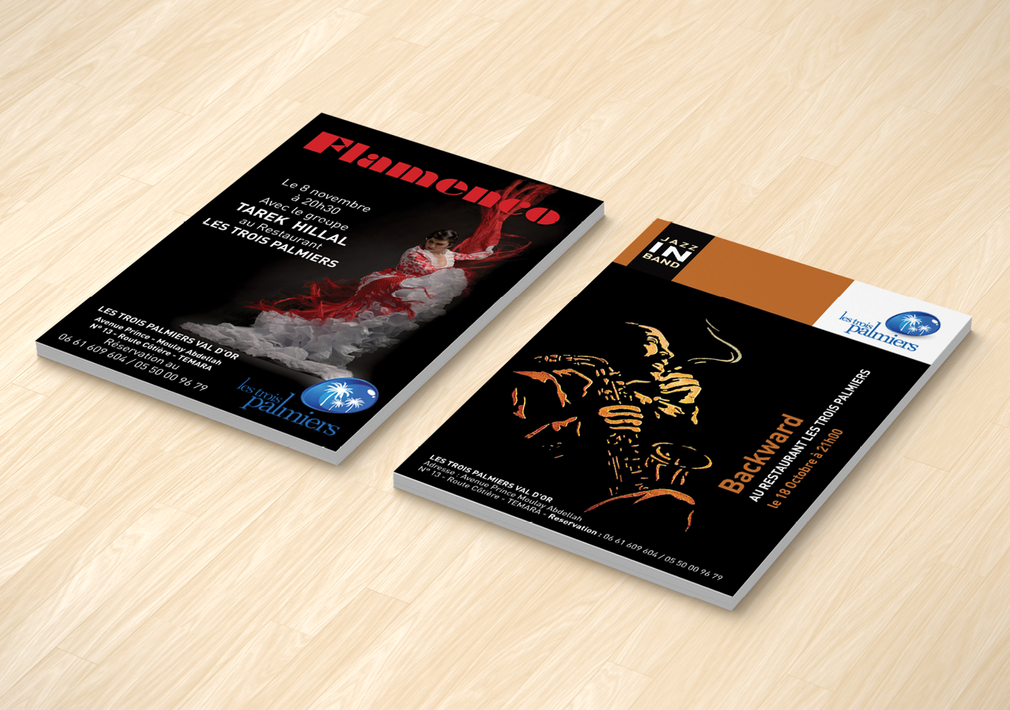 #Flyers : Conception, exécution et impression #Flyers : Design, execution and printing