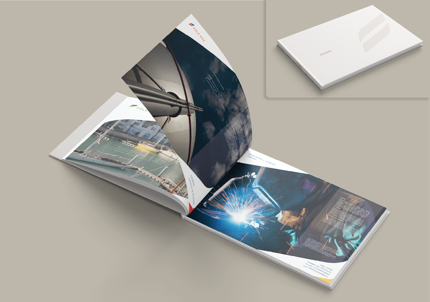#Brochure institutionnelle : Adaptation, exécution et impression #Institutional brochure : Adaptation, execution and printing