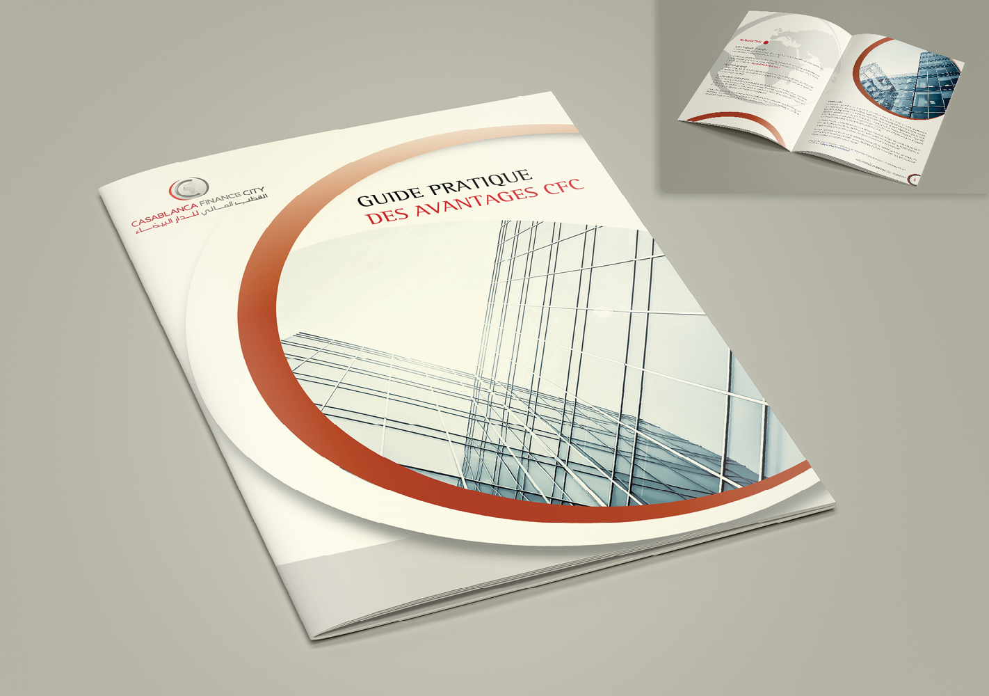 #Brochure institutionnelle : Adaptation, exécution et impression #Corporate brochure : Adaptation, execution and printing