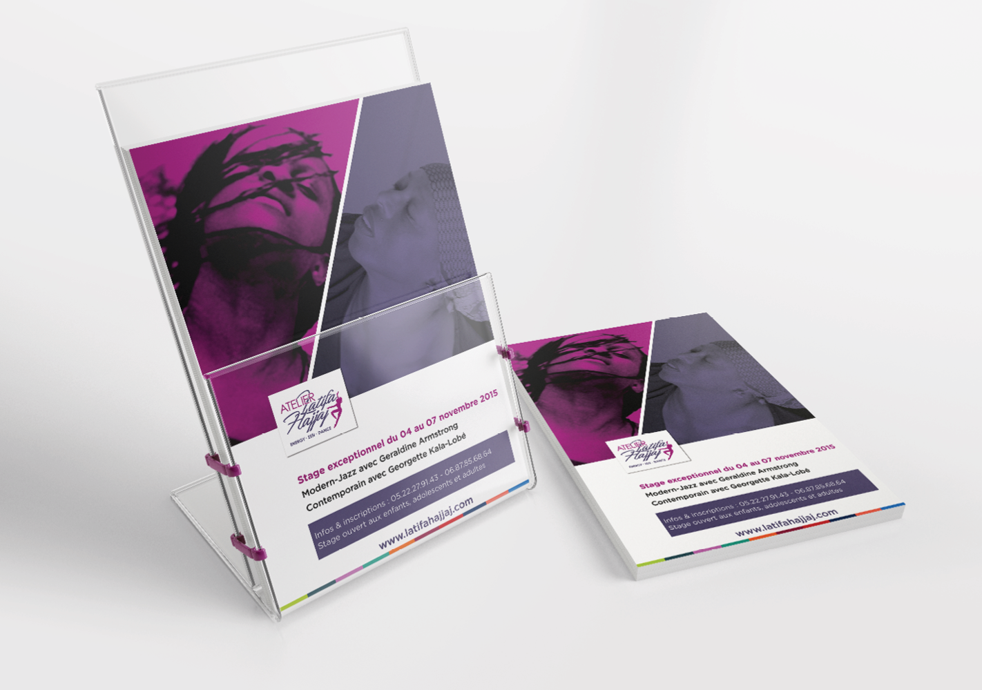 #Flyers : Conception, exécution et impression #Flyers : Design, execution and printing #Creative #Leaflet #Print