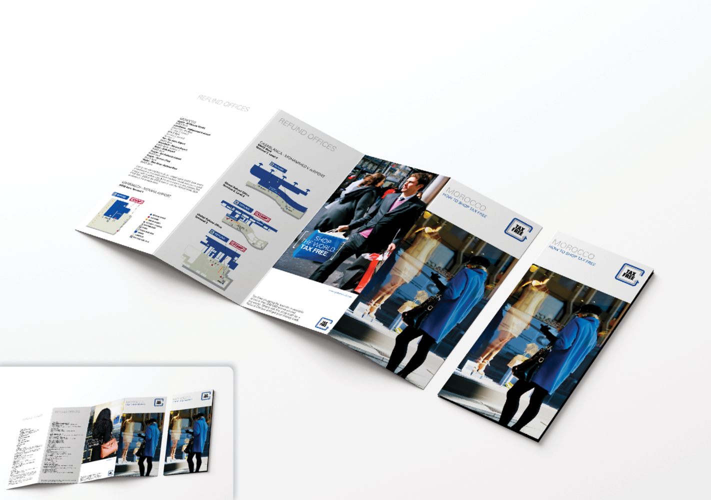 #Dépliant : Adaptation, exécution et impression #Leaflet : Adaptation, execution and printing #Déclinaison #Print